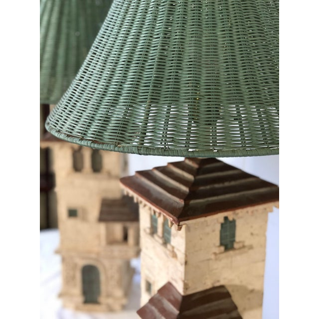 Mid 20th Century Pair of Mediterranean Villa Table Lamps For Sale - Image 5 of 10