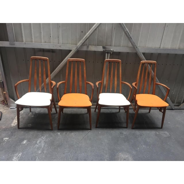Niels Koefoed for Hornslet Dining Chairs - Set of 4 - Image 2 of 5
