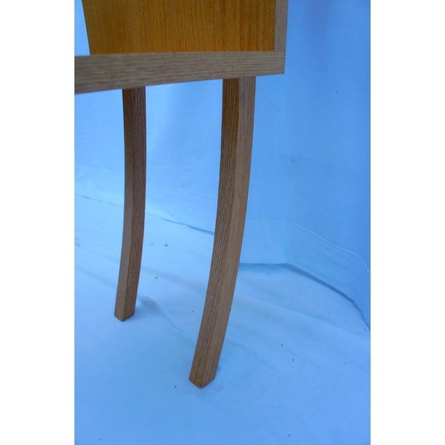 1970s Vintage Handmade Step Leaning Shelf For Sale - Image 9 of 12