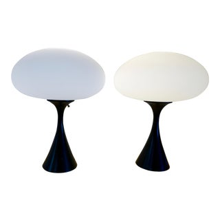 "Laurel ""Mushroom"" Table Lamps - a Pair For Sale"