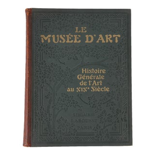French Art Book-Le Musee D'Art, 1920s For Sale