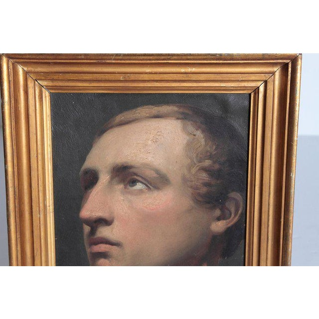 Portrait of a Young Man by Willem Hendrik Schmidt (1809-1849) Dutch For Sale In Dallas - Image 6 of 13