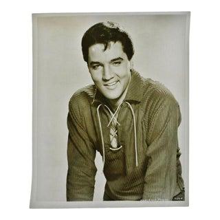Vintage 1960's Elvis Presley Mgm Studios Photograph For Sale