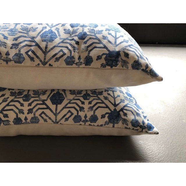 Contemporary Zak & Fox Khotan Pillows - A Pair For Sale - Image 3 of 6