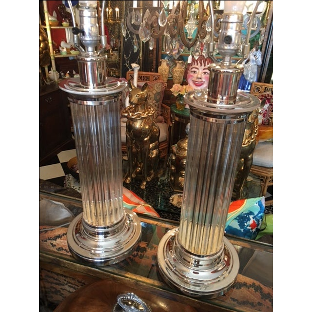 Robert Abbey Lamps - Pair For Sale - Image 5 of 6