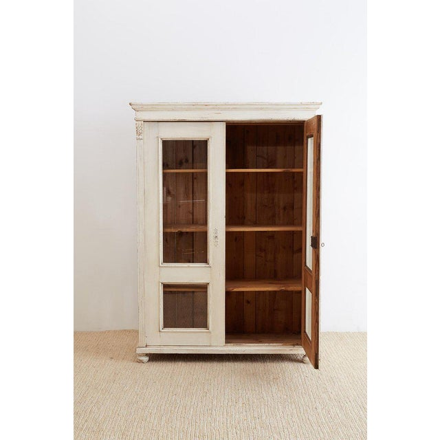 Gustavian (Swedish) Swedish Gustavian Style Pine Bibliotheque Bookcase For Sale - Image 3 of 13