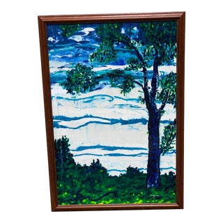 Twilight Showers, by Rodney G. Landsman (American, 1930 – 2016) For Sale