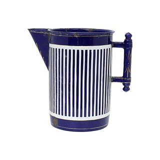 Vintage Large French Enamel Water Jug Preview