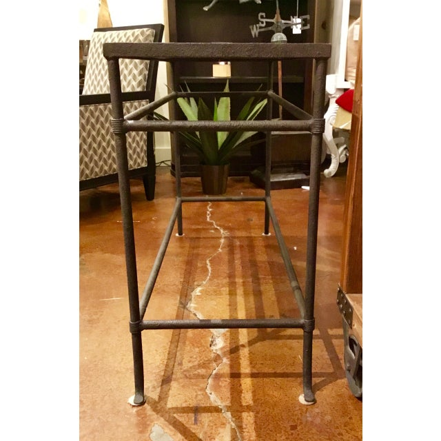 Currey & Co. Aquarius Console Table For Sale - Image 9 of 10