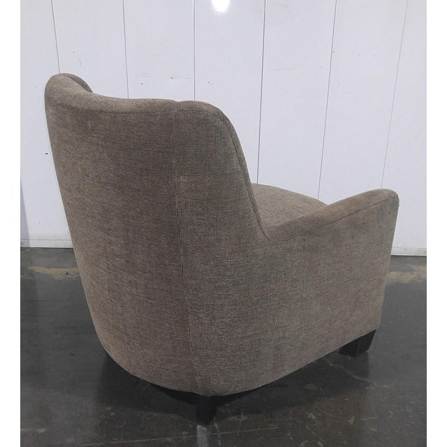 Custom Mid Century Design Lounge Chair For Sale - Image 4 of 10