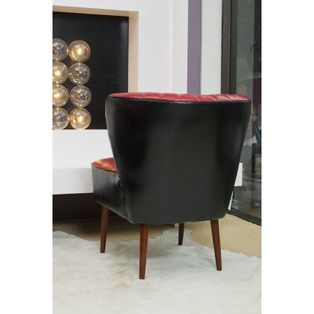 Red and Black Jaxon Sofa Chair - Image 3 of 3