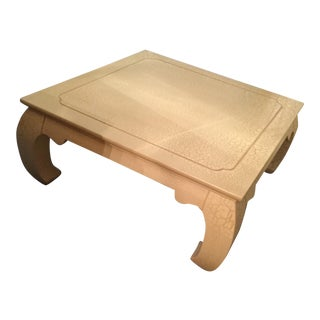 1990s Asian Style Lane Coffee Table For Sale