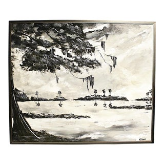 Al Black & M. Sears Florida Highwayman Painting For Sale