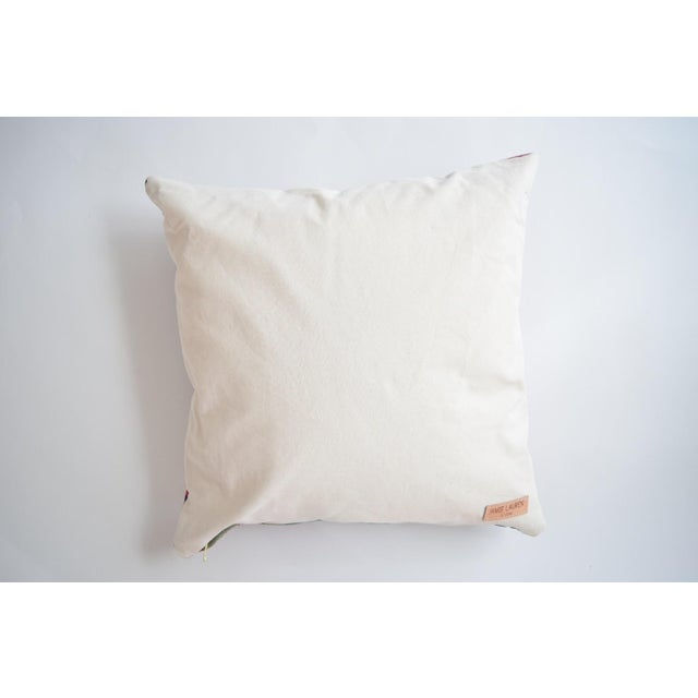 Boho Striped Manta Pillow - Image 5 of 6