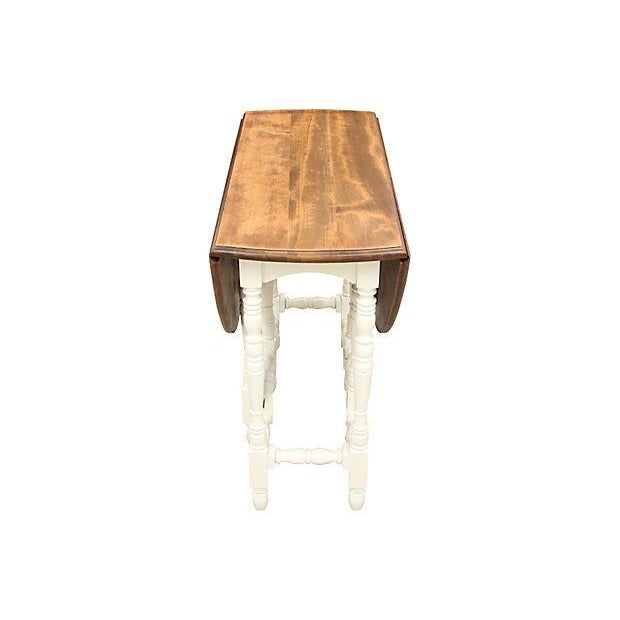 Queen Anne-Style Gateleg Table - Image 5 of 7