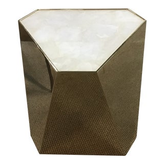 Contemporary Caracole Side Table For Sale