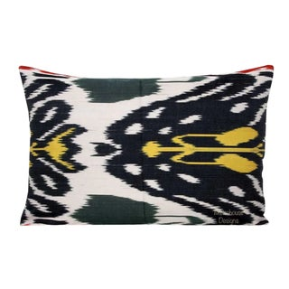 Mantis Silk Atlas Down Feather Lumbar Pillow For Sale