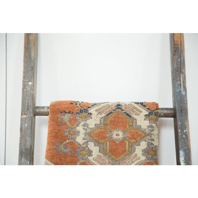 "Vintage Oushak Rug Mat Runner - 1'8"" X 2'11"" For Sale - Image 5 of 5"