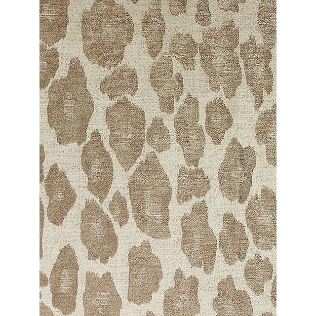 Transitional Scalamandre Chita, Taupe Fabric For Sale - Image 3 of 3