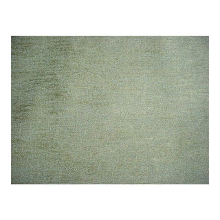 Zimmer Rohde Tinto Green Aqua Tweed Upholstery Fabric- 6 7/8 Yards For Sale