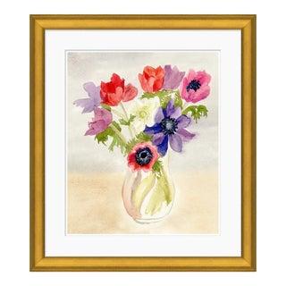 Watercolor Flowers Art Print For Sale