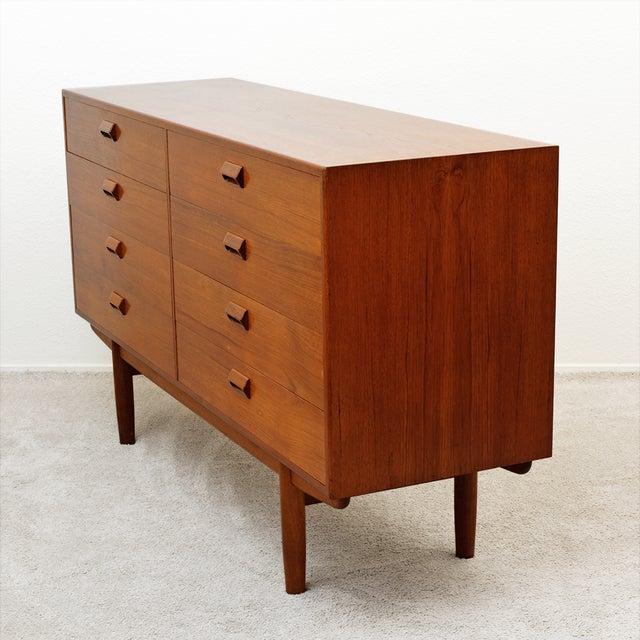 Mid Century Borge Mogensen Teak Dresser for Soborg Mobler For Sale - Image 11 of 13