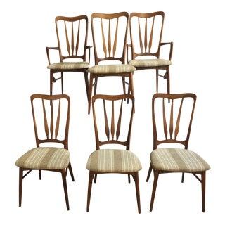 "Koefoeds Hornslet ""Ingrid"" Chairs - Set of 6"
