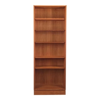 Vintage Danish Oak Bookcase