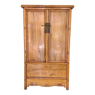 Late 19th Century Chinese Armoire For Sale
