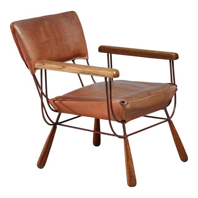 Allen Ditson unique lounge chair, USA, 1960s For Sale