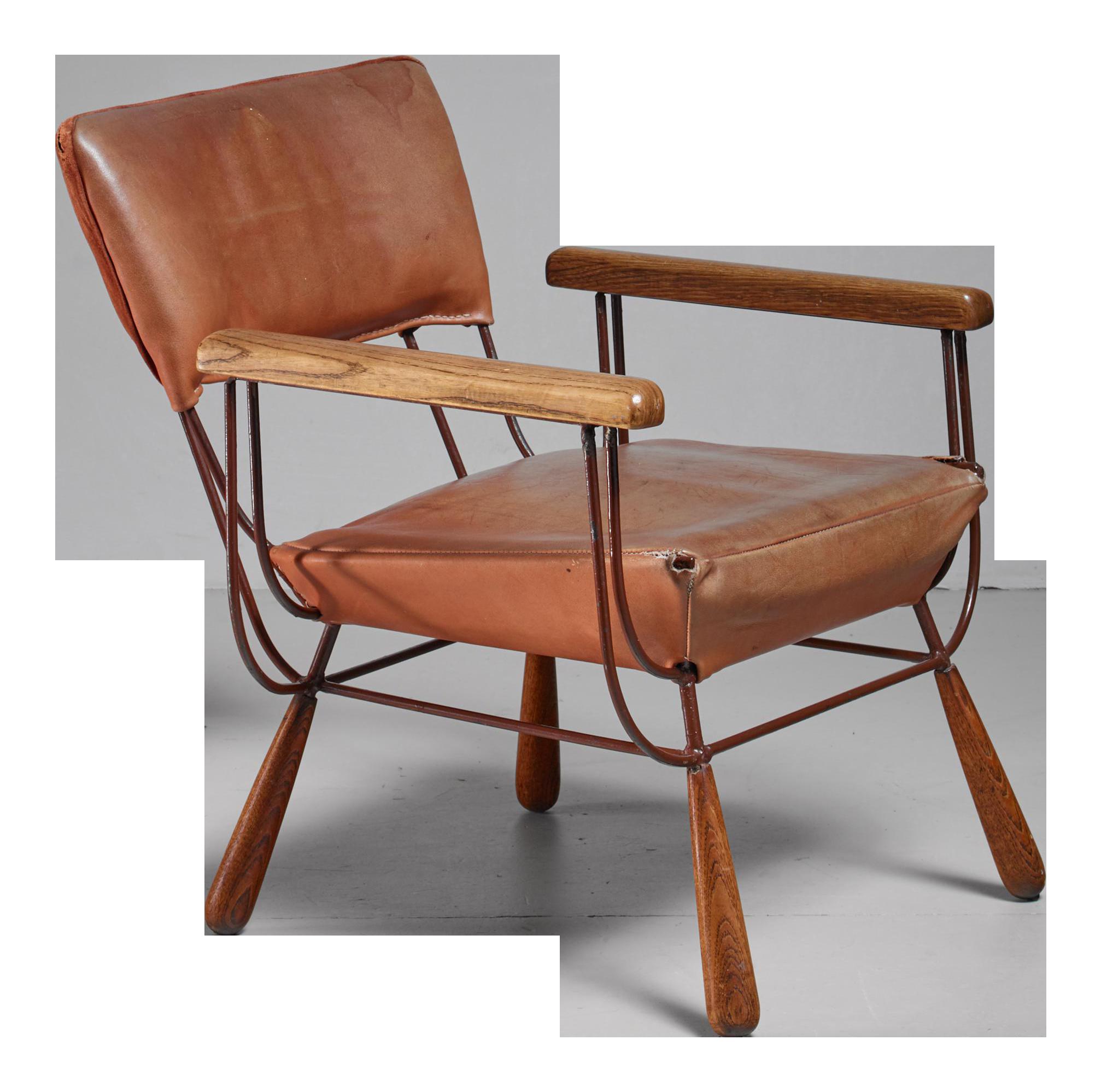 Allen Ditson Unique Lounge Chair, USA, 1960s   Image 1 Of 6