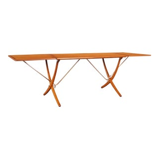 Danish At-304 Dining Table by Hans J. Wegner for Andrea Tuck For Sale