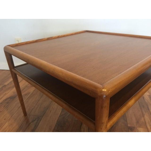 T.H. Robsjohn-Gibbings for Widdicomb Square Table For Sale In Seattle - Image 6 of 10