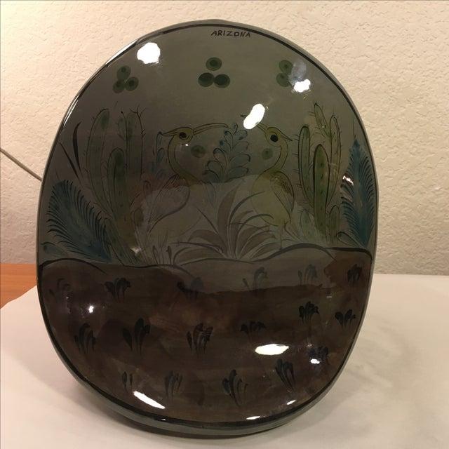 Large Tonala-Style Ceramic Owl - Image 4 of 8