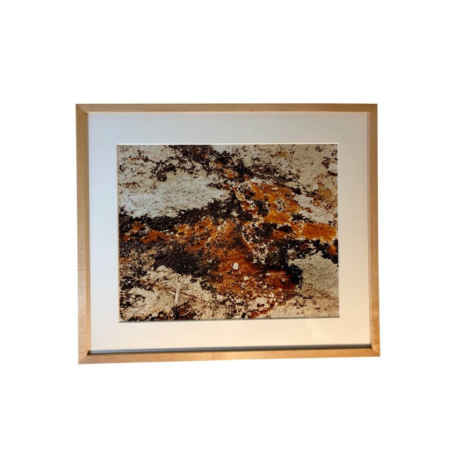 1980s Vintage Original Abstract Photograph by Willy Skigen For Sale
