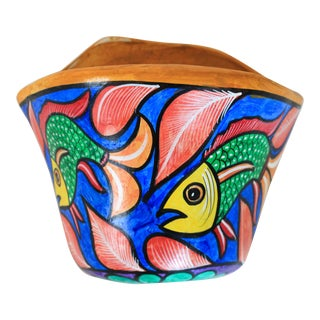 Colorful Wall Pocket Planter For Sale