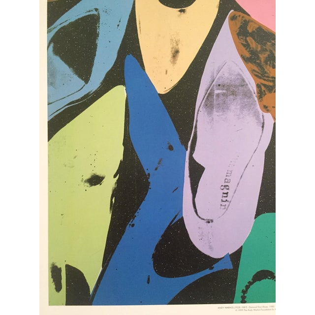"Andy Warhol ""Diamond Dust Shoes"" Offset Lithograph For Sale - Image 5 of 9"