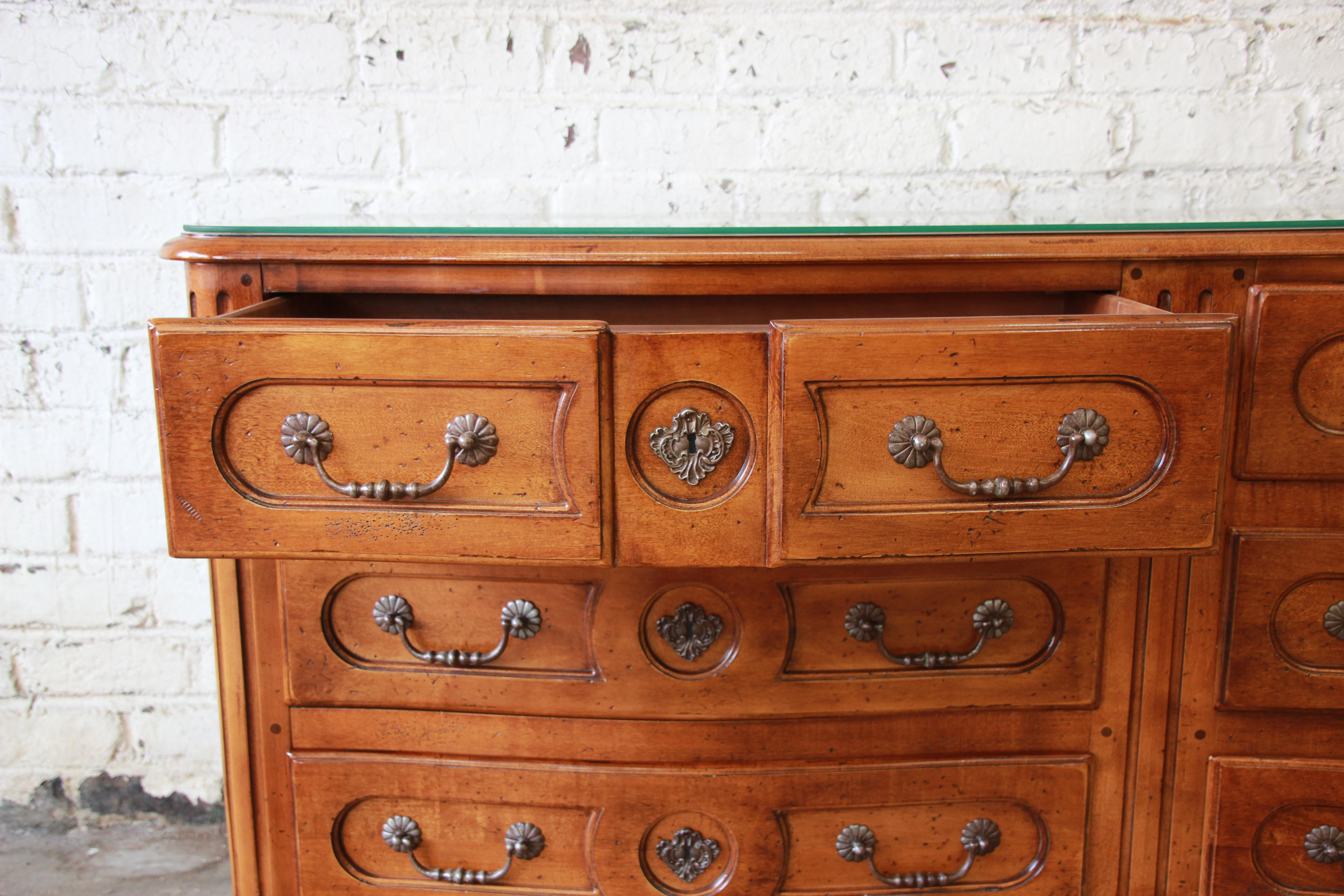 Pierre Deux French Country Double Dresser By Henredon   Image 6 Of 11