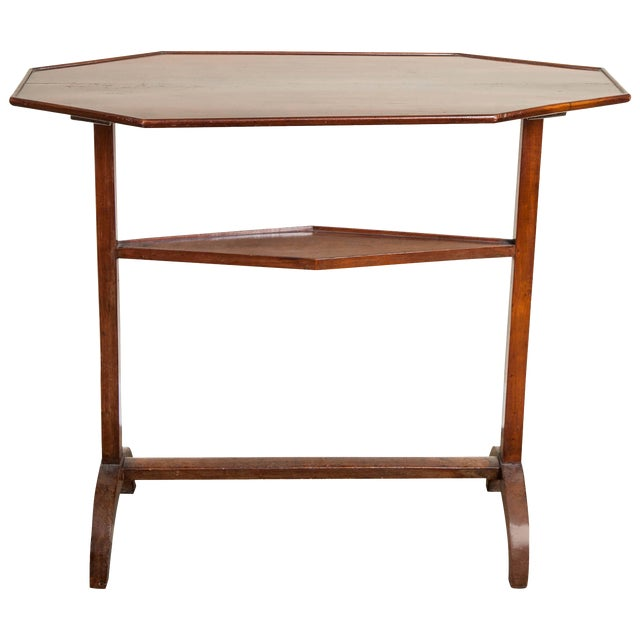 19th Century Neoclassical Directoire Mahogany Trestle Table For Sale