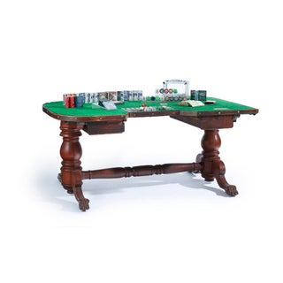 19th Century Americana Oak Poker Table Preview