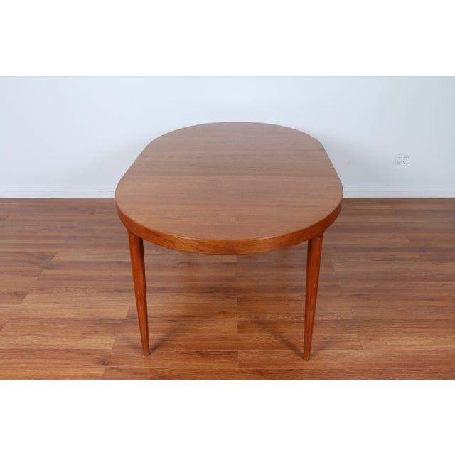 Skovmand & Anderson Danish Mid Century Teak Dining Table - Image 7 of 8