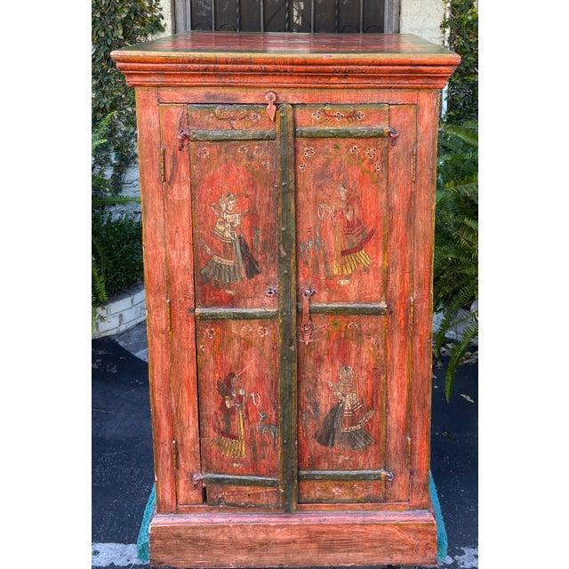 Equator Furniture Company 18th C Spanish Colonial Cabinet Mini Armoire. Equator made furniture utilizing reclaimed barn...