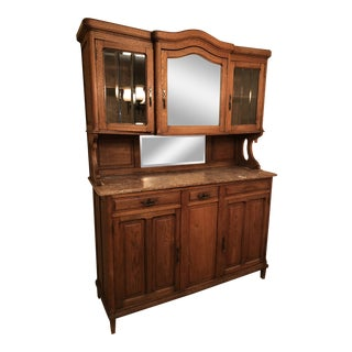 19th Century Oak Cabinet For Sale