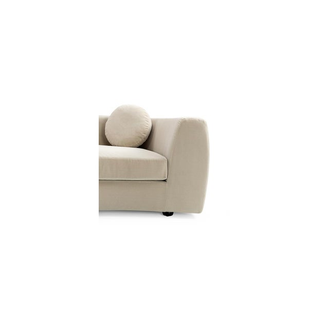 Vesta Maxine Rounded Sofa For Sale - Image 4 of 6