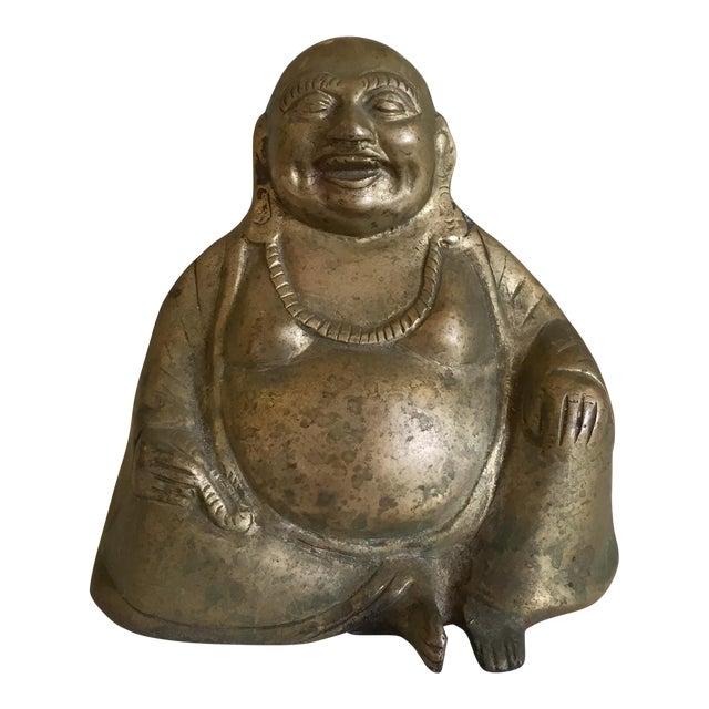 Brass Buddha Figurine For Sale