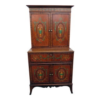20th Century Traditional Wooden Secretary Desk For Sale