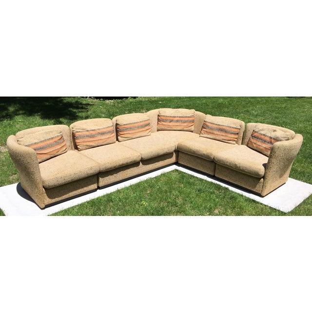 Mid Century Scandinavian Modular Sofa Sectional - Image 2 of 10