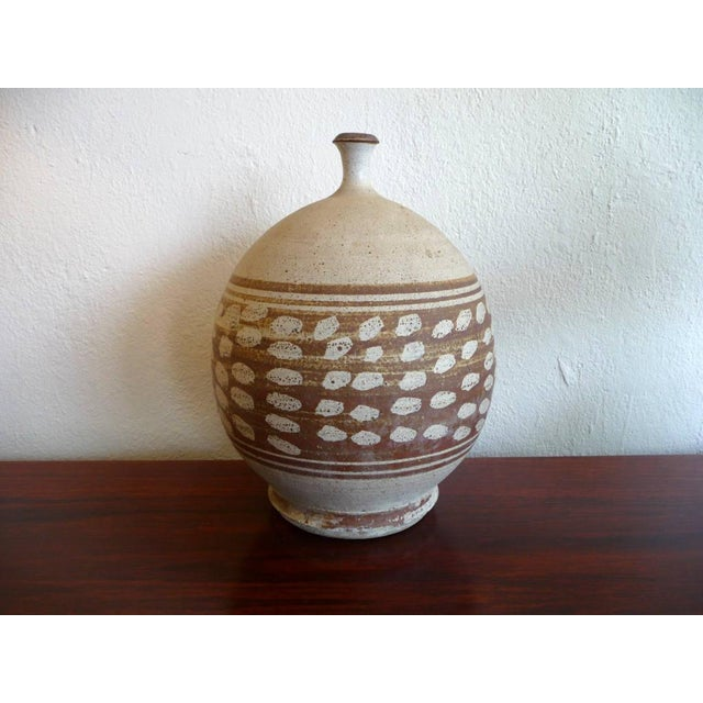 Mid-Century Modern Stoneware Pottery - Image 2 of 6