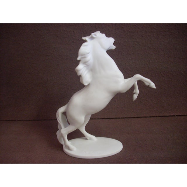 Traditional Kaiser Porcelain Horse Figurine For Sale - Image 3 of 5