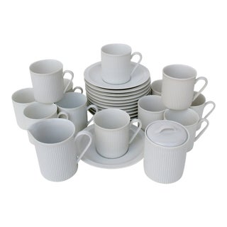 Bavarian Demitasse Set Service for 12 - 26 Piece Set For Sale
